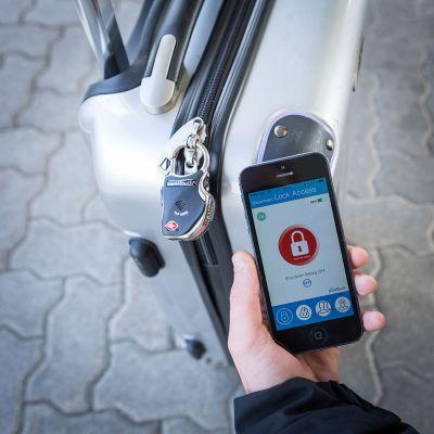 Rejse gadgets - Smart Bluetooth Bagage-lås