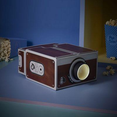 Gadgets til telefonen - Smartphone Projektor Retro-Style v2.0