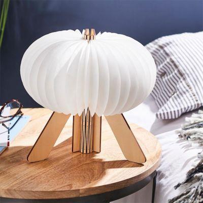 50 års fødselsdagsgave - R Sammenfoldelig design lampe med USB