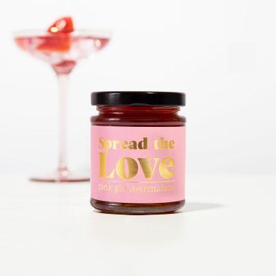 18 års fødselsdagsgave - Lyserød gin marmelade