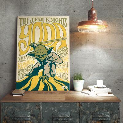 Plakat - Star Wars Metalplakat - Yoda