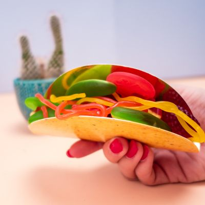 Sødt - Vingummi Taco