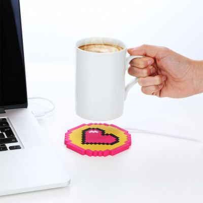 Computer & USB - Hjerte USB-kaffekopvarmer