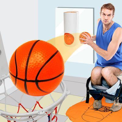 Nyt - Basketball-sæt til toilettet