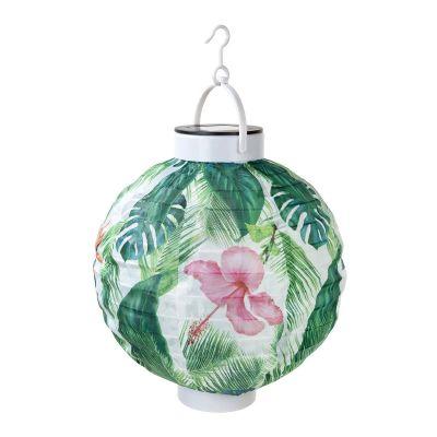 Belysning - Tropisk udendørs lanterne med solceller