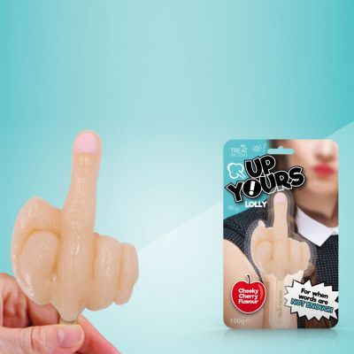 Sødt - Fuckfinger slikkepind