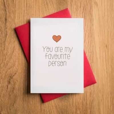 Kort - Kærlighedskort til din absolutte yndling