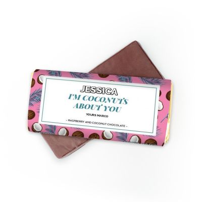 Gaver til bror - Chokolade med 4 linjer