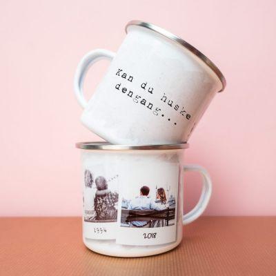 Ekslusive kopper og glas - Personaliseret metalkrus - Kan du huske dengang...