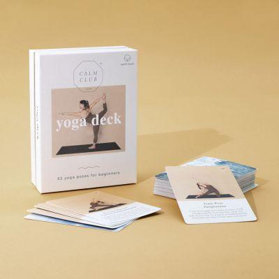 Sport og udendørs gadgets - Yoga kortsæt til 52 uger