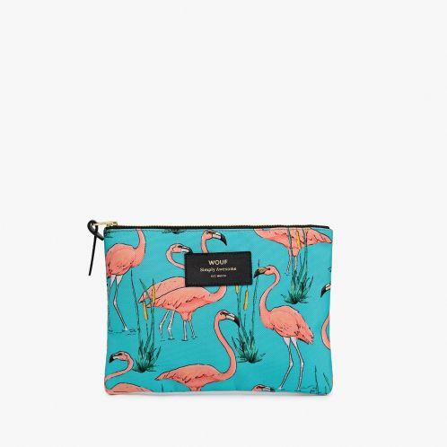 Elegant flamingo taske
