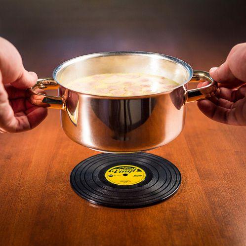 Gaveideer - Vinylplade bordskåner