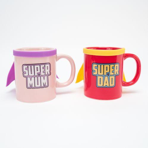 Super Mum & Super Dad Krus