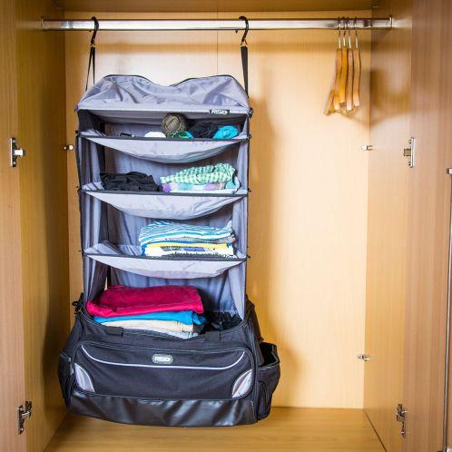 Weekender Rejsetaske med indbygget garderobe