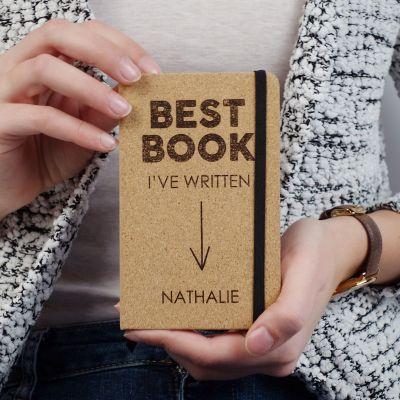Customizable Kork notesbog - Best Book