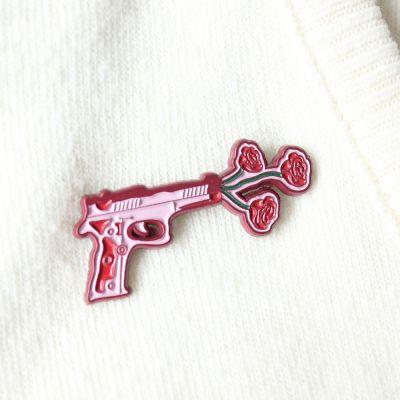 Blomsterpistol pin