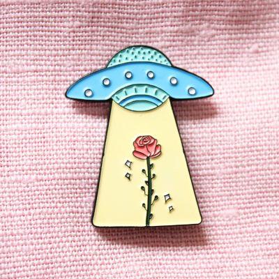 UFO med rose